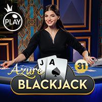 Live - Blackjack 31 - Azure